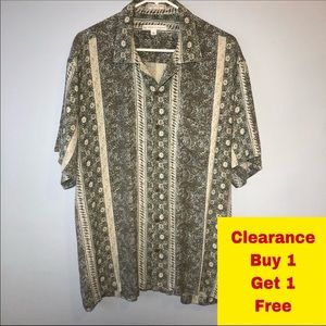 Geoffrey Beene Button Down Shirt Size XL